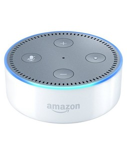 Amazon Echo Dot 2nd Generation Smart Speaker White