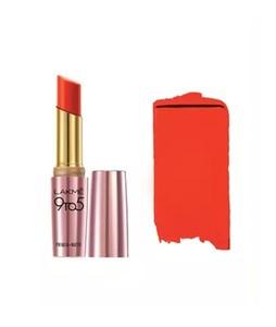 Lakme 9 To 5 Matte Lipstick (MR10 Red Lebel)