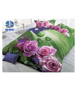 RGshop 3D Double Bed Sheet (SD-0501)