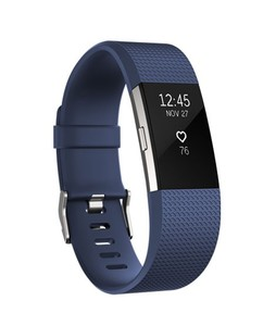 Fitbit Charge 2 HR Fitness Wristband Blue