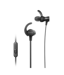Sony Extra Bass Sports In-Ear Headphones Black (MDR-XB510AS)