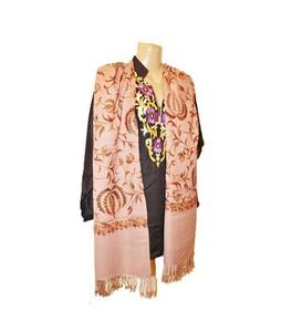 SubKuch Embroidery Kashmiri Shawl For Women (0211)