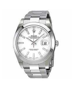 Rolex Datejust Mens Watch Silver (126300WSO)