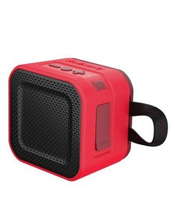 Skullcandy Barricade Portable Bluetooth Speaker Mini Red (S7PBW-J584)