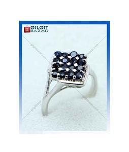 Gilgit Bazar Sapphire Stone Ring For Women (GB1897)