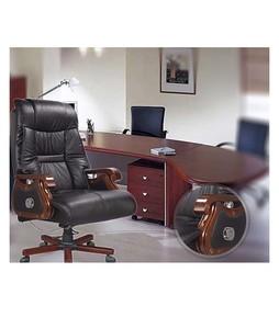 Multiwood Duplex CEO Office Chair Black/Brown