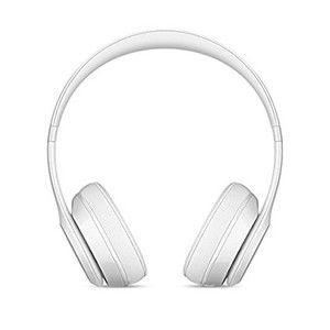 Beats Solo 3 Wireless Bluetooth On-Ear Headphones Gloss White