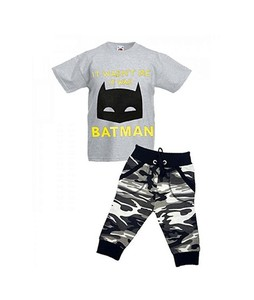 Bindas Collection Pack Of 2 Cotton Shirts & Commando Shorts For Kids (IL-0306)