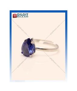 Gilgit Bazar Sapphire Stone Ring For Women (GB1220)