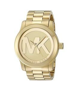Michael Kors Runway Womens Watch Gold (MK5473)