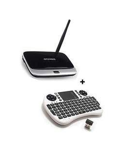 Smart Gadgets Q7 Android Smart Tv Box 2GB/8GB With Wireless Keyboard