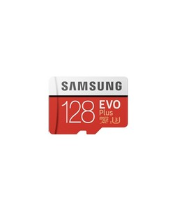 Samsung 128GB EVO+ UHS-I microSDXC Memory Card with Adapter
