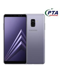 Samsung Galaxy A8 2018 64GB Dual Sim Orchid Gray - Official Warranty