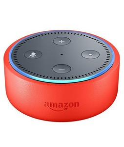 Amazon Echo Dot 2nd Generation Kids Edition Smart Speaker Red
