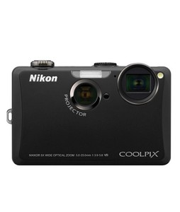 Nikon Coolpix S1100PJ Digital Camera (Black)