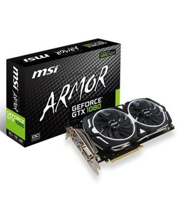 MSI GeForce GTX 1080 ARMOR 8G OC 8GB Graphics Card