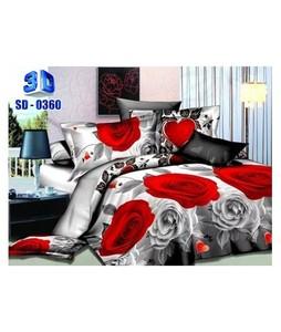 RGshop 3D Double Bed Sheet (SD-0360)