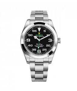 Rolex Air King Mens Watch Silver (116900BKAO)