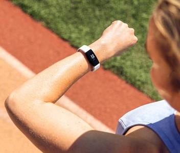 Fitbit Inspire HR Fitness Tracker White/Black