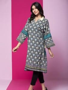 Khas Stores Stitched Lawn Kurti For Women 1 Piece (DR-281)