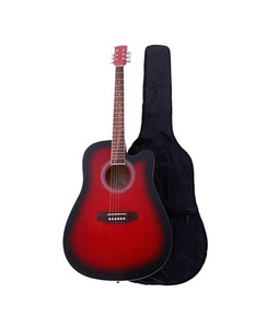 Forbes Store Marconi 41 inch Acoustic Guitar Red With Bag