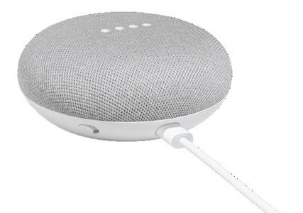 Google Home Mini Smart Bluetooth Speaker Chalk