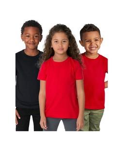 C-Tees Pack Of 3 Plain T-Shirt For Kids Multi (CKT10060)