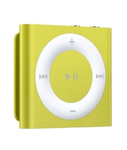 Apple iPod Shuffle 4th Generation 2GB Yellow