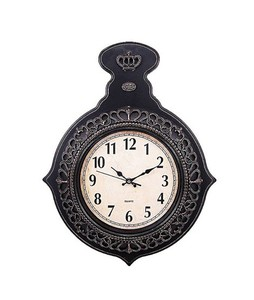 Asaan Buy Antique Design Wall Clock Black (86000)