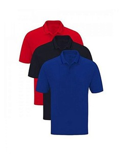 Bindas Collection Pack Of 3 Cotton Polo Shirts For Men Mulicolor (IL-0147)
