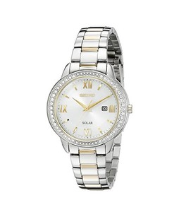 Seiko Recraft Series Womens Watch Two Tone (SUT246)
