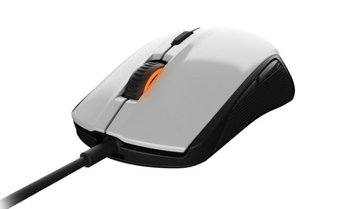 SteelSeries Rival 100 Optical Gaming Mouse White