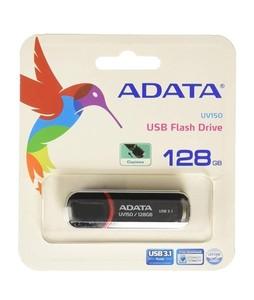 ADATA UV150 128GB USB 3.1 Flash Drive Black (AUV150-128G-RBK)