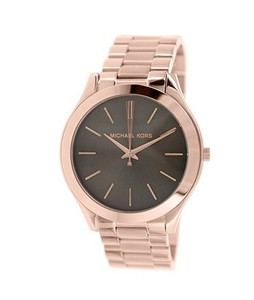 Michael Kors Slim Runway Womens Watch Rose Gold (MK3181)