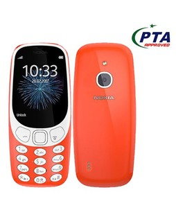 Nokia 3310 3G Dual Sim Red - Official Warranty