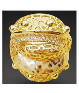 Waks Pk Gold Plated Ring For Women (0351)