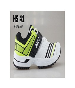 HS Cricket Shoes For Men Hs 41 White & Green