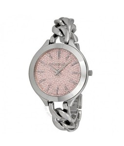 Michael Kors Slim Runway Womens Watch Silver (MK3357)