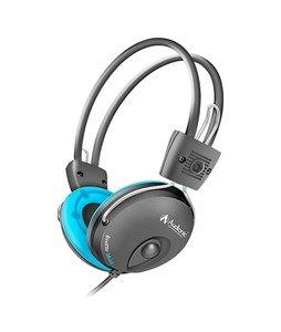 Audionic Music Notes On-Ear Headphones Blue (MN-668)