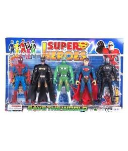 Planet X Super Heroes Action Figures Set (PX-9786)
