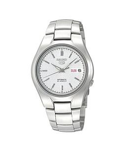 Seiko 5 Mens Watch Silver (SNK601)