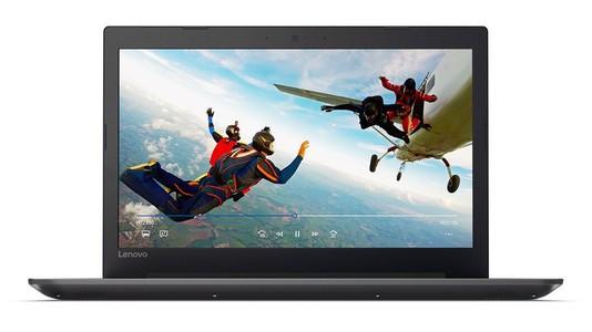 Lenovo Ideapad 320 15.6 Core i3 7th Gen 4GB 1TB Laptop Black - Official Warranty