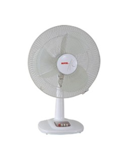 Royal Petite Table Fan 12 Off White