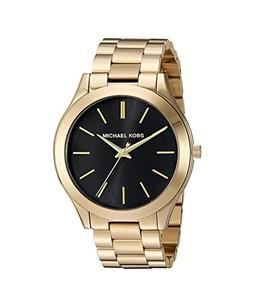 Michael Kors Slim Runway Womens Watch Gold (MK3478)