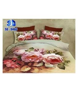 RGshop 3D Double Bed Sheet (SD-0466)
