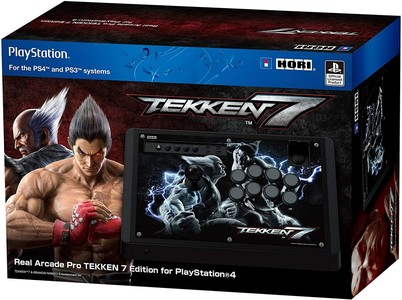 HORI Real Arcade Pro 4 Kai Tekken 7 Edition for PS4  PS3 & PC