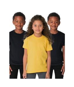 C-Tees Pack Of 3 Plain T-Shirt For Kids Multi (CKT10058)