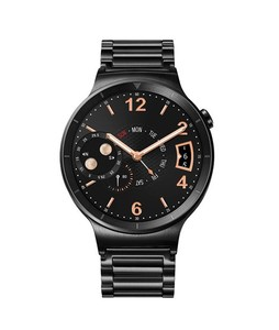 Huawei Watch Black Stainless Steel with Link Band