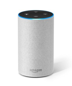 Amazon Echo 2nd Generation Smart Speaker Sandstone Fabric