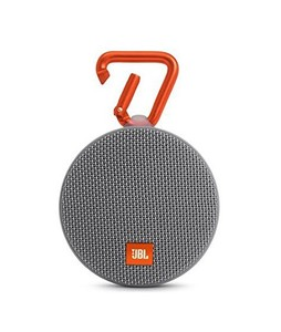 JBL Clip 2 Waterproof Portable Bluetooth Speaker Gray